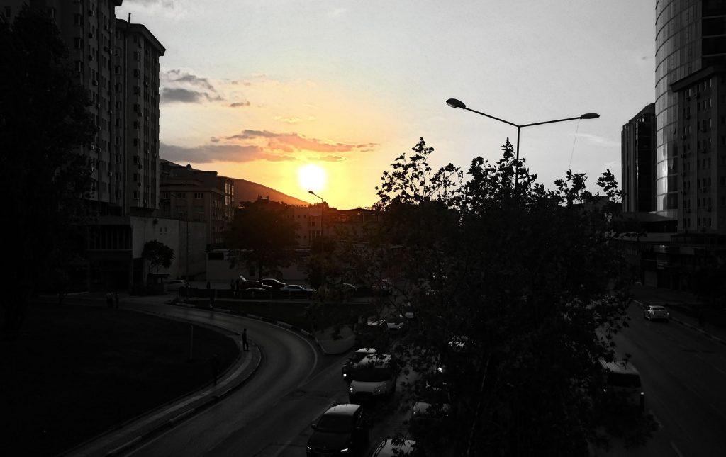 güneş-batarken