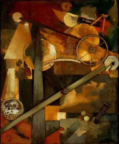Kurt Schwitters, Yerinden Çıkmış Güçler (1923)